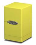 Ultrapro satin tower deck box - jasnożółte