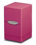 Ultrapro satin tower deck box - różowe